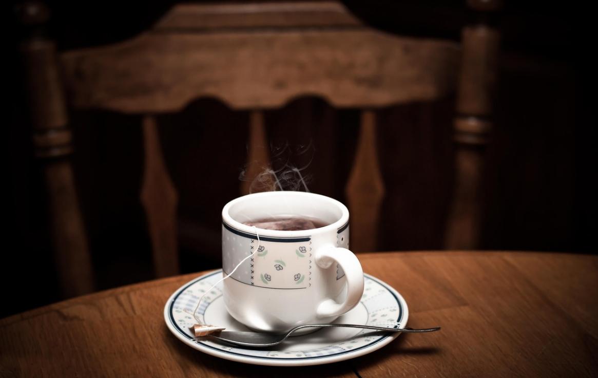 hrnek a čaj