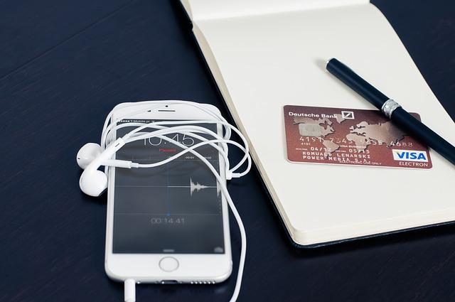 kreditka a iphone